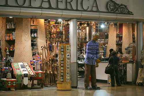Out of Africa duty free shop