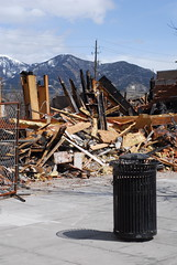 (fotohayes) Tags: aftermath montana bozeman downtown mt explosion 2009 naturalgas brianhayes bozemanmontana northwesternenergy