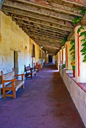 Carmel Mission Portico