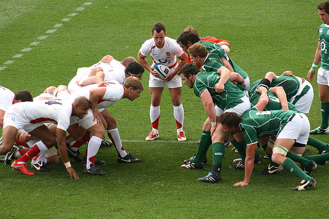 Scrum to England