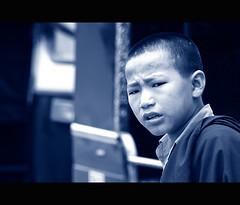 Who ? What ? Why ? (@k@sh) Tags: from camp elephant tibetans abbey rain misty training canon 350d afternoon seat bangalore foggy 7 sigma falls karnataka 1020 coorg kms madikeri kodagu akash bylakuppe nisargadhama rajahs kushalnagar talakaveri dhubare