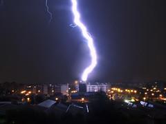 Lightning (l) Tags: city blue italy storm milan night europa europe italia blu milano flash thunderstorm luci lightning notte luce milanobynight temporale citylight lightnings fulmine fulmini cittdinotte cloudslightningstorms