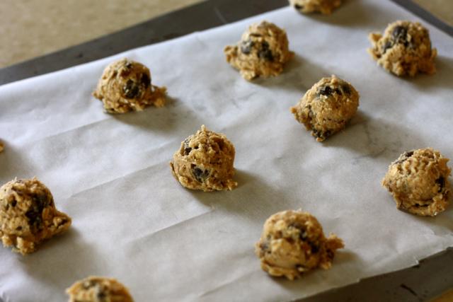 Oatmeal Pecan Chocolate Chip Cookies