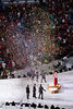 Paper Rain (JoelICastaneda) Tags: men netherlands bronze vancouver silver gold russia confetti southkorea bcplace medalceremony svenkramer winterolympics2010 victoryceremony speedskating5000m