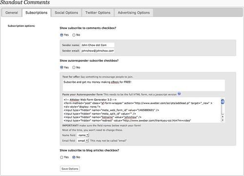 Standout Comments WordPress Plugin