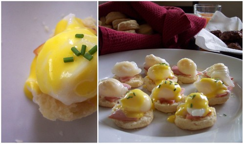 Miniature Eggs Benedict