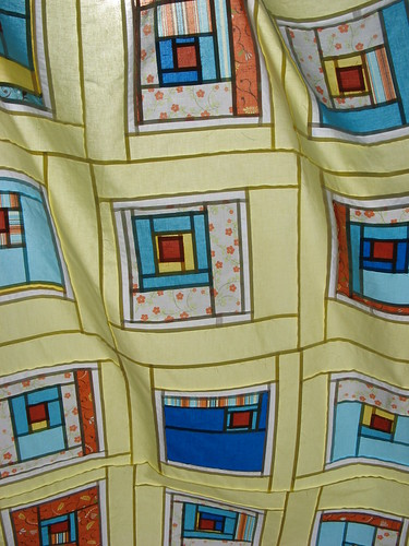 """All Squared Up"" Quilt - Back of Top"