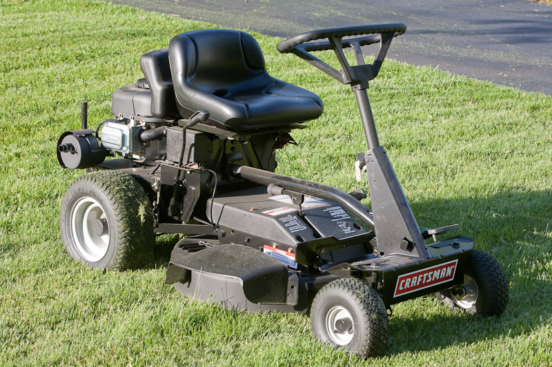 Craftsman riding lawn Mower User manual How To Change blades