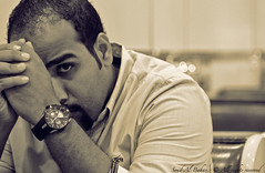 waiting .... (Saud Al.Bahar) Tags: portrait waiting time rocket johhny abdullah  saud soud albahar