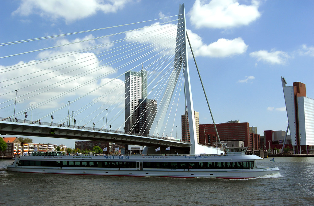 Erasmus Bridge from the Spido