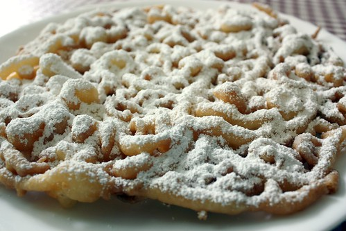 ... some oh-so scrumptious funnel cakes for this weekend. Oooooh....YUM