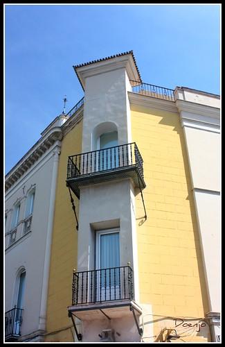Casa para Leal de los Santos (Fachada al Postigo del Carbón)