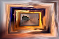 Cuadro (Jocarlo) Tags: sunset sun sol amanecer melilla montajesfotográficos pwmelilla stereografias jocarlo