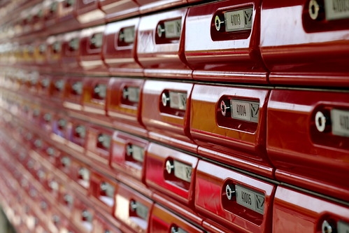 Sunday: Postboxes on the way to Rehearsal