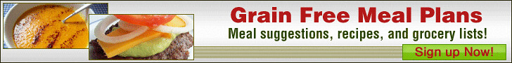 Grain Free Meal Plans- Click Here to Learn More!
