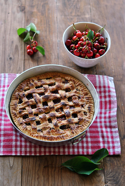 1.Cherry pie alle mandorle