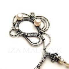 one of my most recent pieces :) (Iza Malczyk) Tags: silver necklace jewelry jewellery