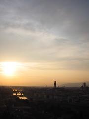 IMG_4081 (happyshoko) Tags: sunset firenze michelangelo piazzale