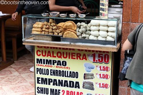 Empanadas and Mim Pao