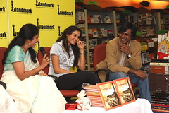 Ayurvedic cookbook launch at Landmark