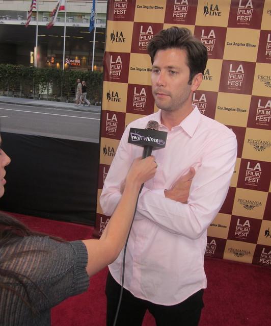 "Director David Nordstrom ""Sawdust City"" ,Opening Night LA Film Festival 2011"