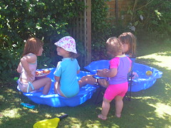 Paddling pool snacks
