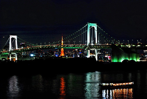 [Odaiba] Rainbow Bridge