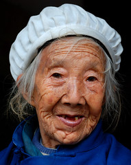 Portraits in the Chinese countryside (5ERG10) Tags: china street old woman dog man sergio portraits children countryside nikon meetup pipe  guizhou  zunyi d80 nohdr   nikkor18135mm nikkor18135 xianxia amiti  coooto  5erg10 sergioamiti