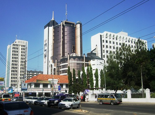 Downtown Mombasa by Victor O