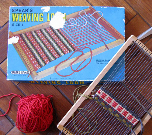 weaving - first attempts