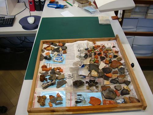 Aufarbeitung der Funde aus der Grabung Marienhospital
