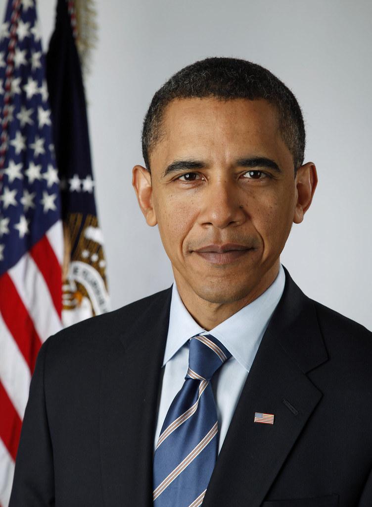 New official portrait for President Barack Obama taken w/ Canon EOS 5D Mark II