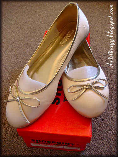 Champagne Flat Round Toe Courts