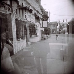 The ghosts of The Porter & a.k.a. flash (Raymond F) Tags: atlanta film holga atl ishootfilm diana raymond l5p littlefivepoints expiredfilm 011109 akaflash raymondf atlholga011109 atlantaholga011109 holgaart sigma50th