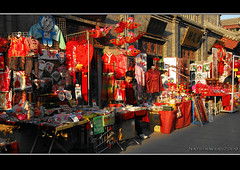 All reds now (Nathalie Stravers) Tags: china red souvenirs ancient culture tianjin