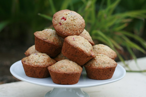 Martha Stewart's Cranberry-Zucchini Muffins