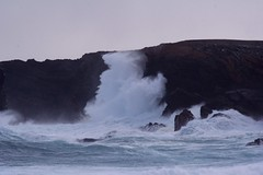 Big Breakers (jonnobird (Catching up after Cyprus)) Tags: autumn sea storm coast north cliffs 2008 foula
