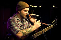 "Dustin Kensrue (Thrice) / ""Ok man. You win."" (Nirazilla) Tags: columbus concert emo indie acoustic thrice thebasement promowest dustinkensrue wherestheband lastfm:event=842264"