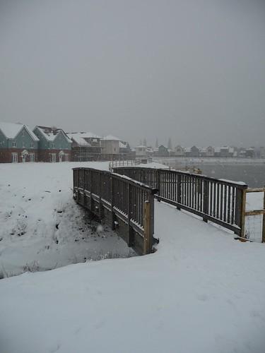 Monday snow