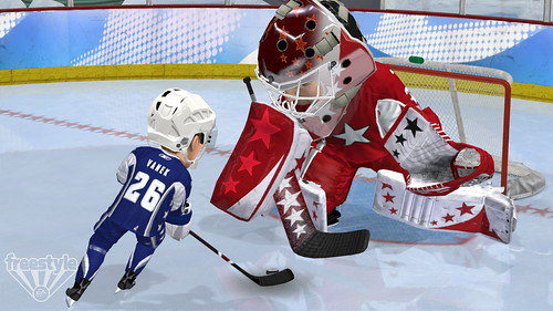 3 on 3 NHL Arcade screenshot - VanekW