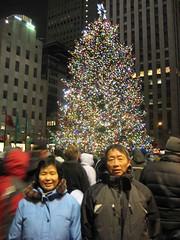 2009-01-01-02_08_38 (guoqiangwu) Tags: 纽约 圣诞树 洛克菲勒中心