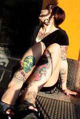 IMG_7699 (Venessa Nina) Tags: alison murphy tattoo industrial ink venessa nina photography model cute girl sexy woman hot tats hello kity cupcake skull flowers dress heals inked fivefootmohawk venessaninaphotography tottoos tattooed lady female new jersey