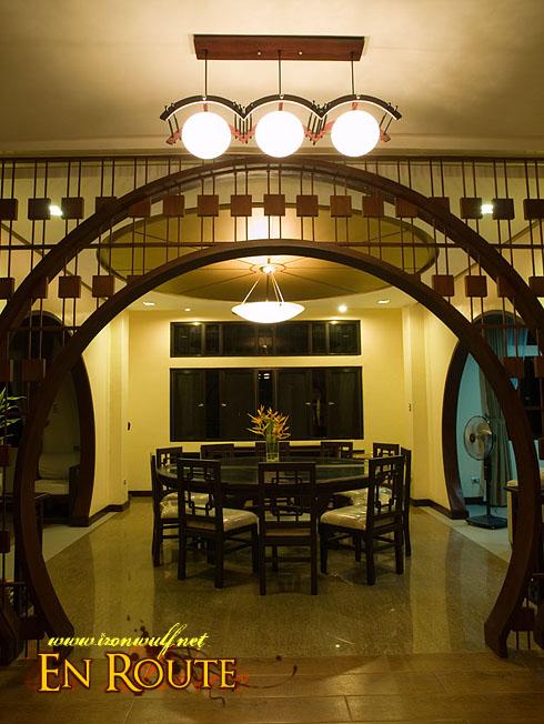 Puerto Galera Manor Dining Area