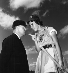 Fort Wayne Daisies player, Marie Wegman, of th...