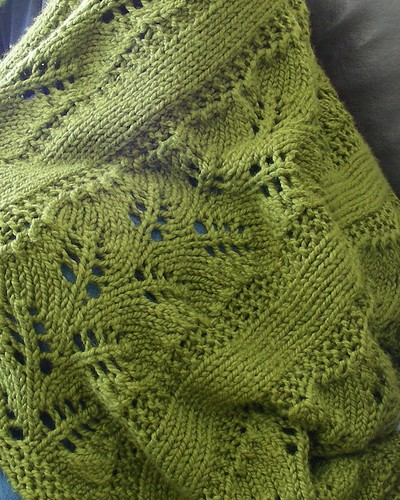 big fat fern afghan