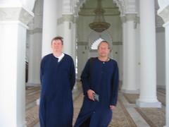 Aan moskee in Maleisië