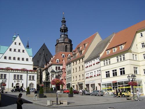 Lutherstad Eisleben: Markt