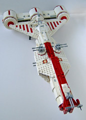 repfrig12 (Rogue Bantha) Tags: star republic lego mini wars clone frigate consular