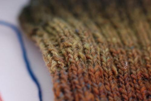 2x2 sock cuff
