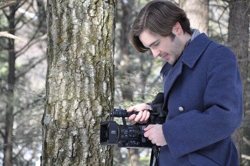 "John Herman filming ""Chronium"" for the 48 Hour Film Project (by mrjohnherman)"